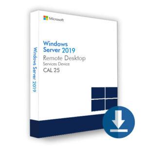 Windows Server 2019 Device CAL 25