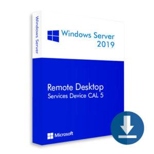 Windows Server 2019 Device CAL 5
