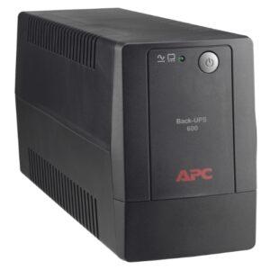 APC Back-UPS 600VA, 120V, AVR, LAM