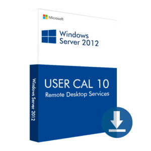Windows Server 2012 USER CAL 10