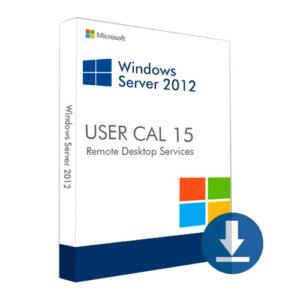 Windows Server 2012 User CAL 15