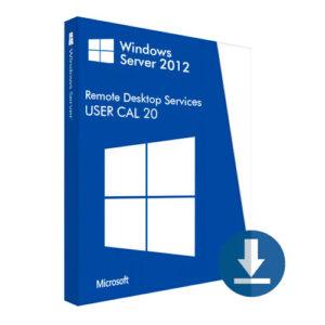Windows Server 2012 User CAL 20