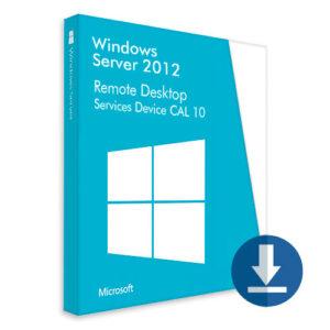 Windows Server 2012 Remote Desktop Services Device CAL 10