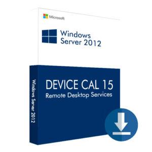 Windows Server 2012 Remote Desktop Services Device CAL 15