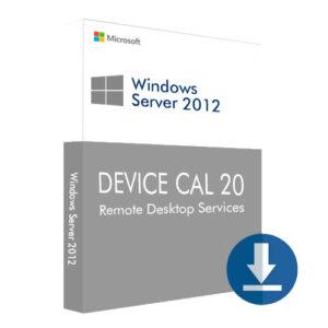 Windows Server 2012 Device CAL 20