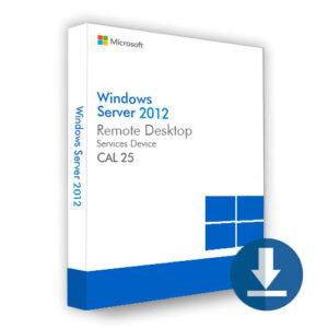 Windows Server 2012 Device CAL 25
