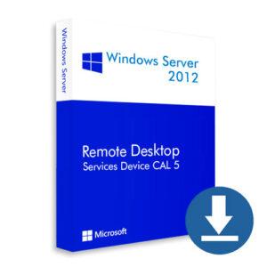 Windows Server 2012 Device CAL 5