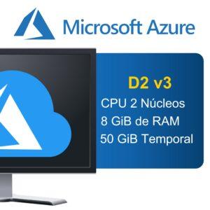 """Microsoft Azure """"Serie D"""" D2 v3"""