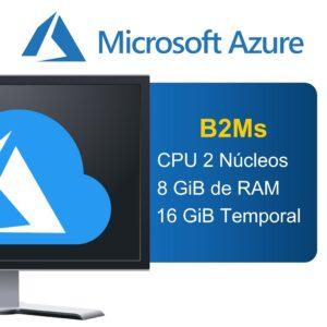 "Microsoft Azure ""Serie B"" B2Ms"